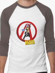 Maya Men's Baseball ¾ T-Shirt