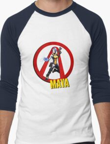 Maya Men's Baseball ¾ T-Shirt