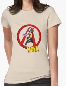 Maya Womens Fitted T-Shirt
