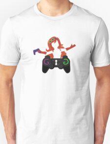 #GamerGate (White) Unisex T-Shirt