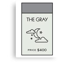 The Gray - Property Card Canvas Print