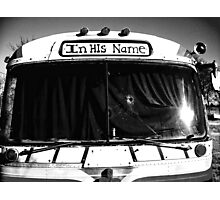 In His Name..... Photographic Print