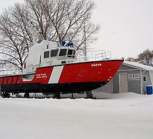 snowed in coast guard by Cheryl Dunning