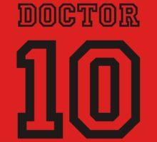 Doctor 10 Jersey Kids Tee