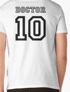 Doctor 10 Jersey Mens V-Neck T-Shirt