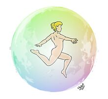 Leave your Bubble (Blonde) by Nude-is-Life