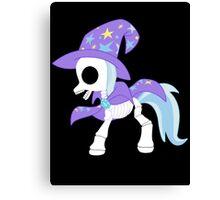 My Little Pony - Trixie Skeleton Magic Canvas Print