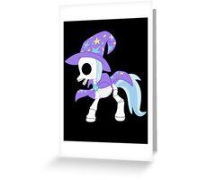 My Little Pony - Trixie Skeleton Magic Greeting Card