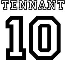 Tennant 10 Jersey by tardisimpala221