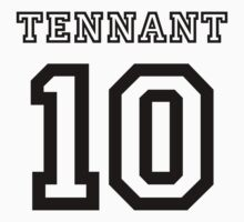 Tennant 10 Jersey Kids Clothes