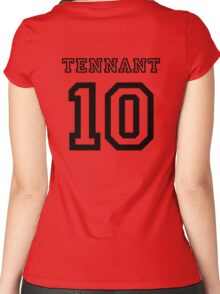 Tennant 10 Jersey Women's Fitted Scoop T-Shirt