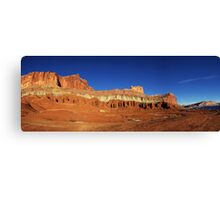 Capitol Reef Panorama Canvas Print