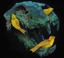 Three little birds by Fil Gouvea