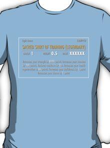 Sacred Shirt of Training (Legendary) T-Shirt