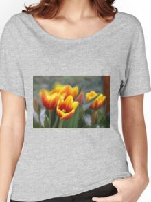 SWAYING TULIPS Women's Relaxed Fit T-Shirt