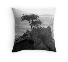Lone Cypress--Monterey California  Throw Pillow