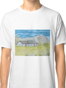 Cottage in Scotland Classic T-Shirt