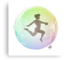 Leave your Bubble (Caribbean) Canvas Print