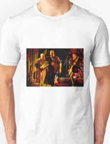 Rock Band on Stage. T-Shirt