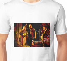 Rock Band on Stage. Unisex T-Shirt
