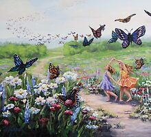 Flutterby Dreams by Karen Ilari