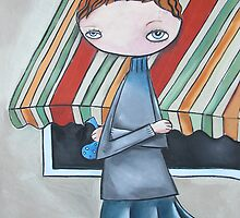 Striped Awning by Lisa Coutts