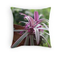 The Tilted Pot Throw Pillow