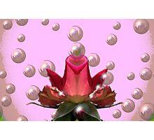 Bubble Blower Photographic Print