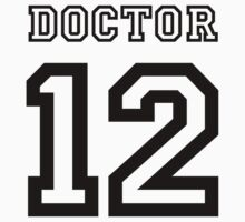 Doctor 12 Jersey One Piece - Short Sleeve