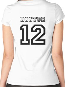 Doctor 12 Jersey Women's Fitted Scoop T-Shirt