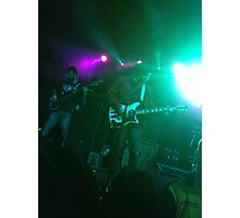 Frnkiero andthe Cellabration Live  Photographic Print