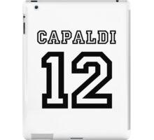 Capaldi 12 Jersey iPad Case/Skin