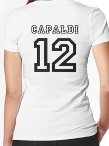Capaldi 12 Jersey Women's Fitted V-Neck T-Shirt