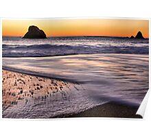 Beach Light Poster