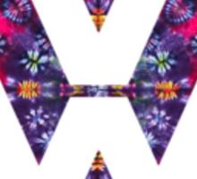 Volkswagen Tie Dye Logo Badge Sticker