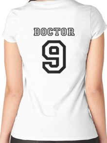 Doctor 9 Jersey Women's Fitted Scoop T-Shirt