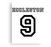 Eccleston 9 Jersey Canvas Print