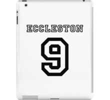 Eccleston 9 Jersey iPad Case/Skin