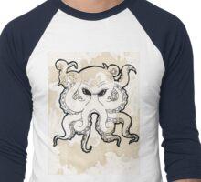 Octopus Stain Men's Baseball ¾ T-Shirt