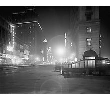 Broadway at Night, 1910 Photographic Print