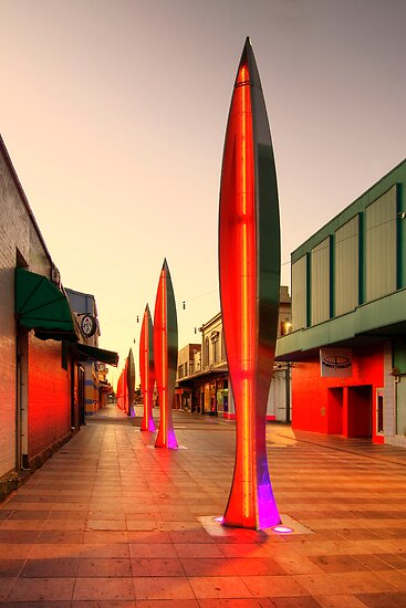 Rocket Lane -Geelong by Hans Kawitzki