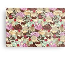 I Love You Cupcakes Metal Print
