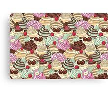 I Love You Cupcakes Canvas Print