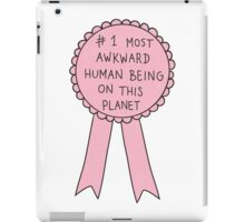 Most Awkward Human Being iPad Case/Skin