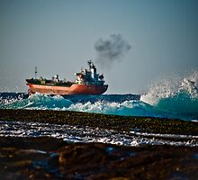 High seas cargo by Plonko