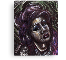 Price of Fame? - Amy Winehouse Canvas Print