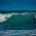 Crystal Aqua Wave by Plonko