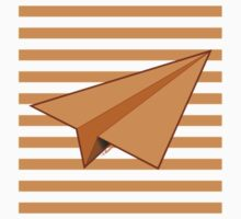 Paper Airplane 39 Kids Tee
