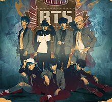 BTS - Skool Luv Affair 2 (Case) by GOLDENlulu