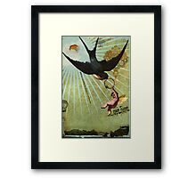 First flight Framed Print